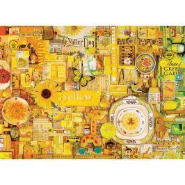 COBBLE HILL Puzzle  51863 Barvy duhy: Žlutá 1000 dílků