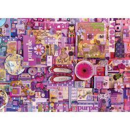 COBBLE HILL Puzzle  51866 Barvy duhy: Fialová 1000 dílků