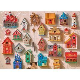 COBBLE HILL Puzzle  51867 Kukačky a ptačí budky 1000 dílků