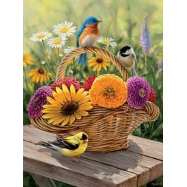 COBBLE HILL Puzzle  54339 R. Millette: Letní kytice XL 275 dílků