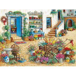 COBBLE HILL Puzzle  54344J. Kruskamp: Květinářství XL 275 dílků