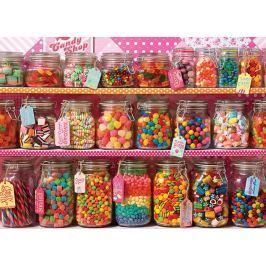 COBBLE HILL Rodinné puzzle  54601 Police se sladkostmi 350 dílků