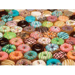 COBBLE HILL Puzzle  57121 Donuty (Americké koblihy) 500 dílků