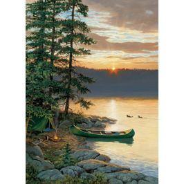 COBBLE HILL Puzzle  57162 P. C. Weirs: Kánoe u jezera 1000 dílků