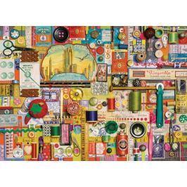 COBBLE HILL Puzzle  57186 S. Davies: Šicí pomůcky 1000 dílků