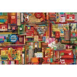 COBBLE HILL Puzzle  57197 S. Davies: Malířské potřeby 1000 dílků