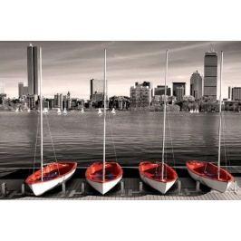 EUROGRAPHICS Puzzle  1000 dílků : Boston - Marina