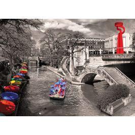 EUROGRAPHICS Puzzle San Antonio River Walk 1000 dílků