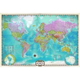 EUROGRAPHICS Puzzle  2000 dílků - Mapa světa