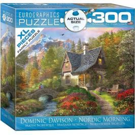 EUROGRAPHICS Puzzle Ráno na severu XL 300 dílků