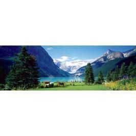 EUROGRAPHICS Panoramatické puzzle Jezero Louise, Canadian Rockies 1000 dílků