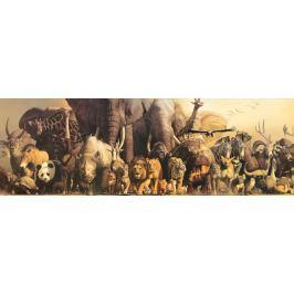EUROGRAPHICS Panoramatické puzzle Noemova archa 1000 dílků
