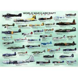 EUROGRAPHICS Puzzle  1000 dílků - Letadla 2.světové války