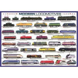 EUROGRAPHICS Puzzle  1000 dílků - Moderní lokomotivy