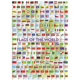 EUROGRAPHICS Puzzle  1000 dílků - Vlajky světa