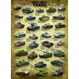 EUROGRAPHICS Puzzle Tanky 2. světové války 1000 dílků