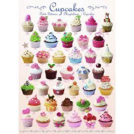 EUROGRAPHICS Puzzle Dortíky (Cupcakes) 1000 dílků