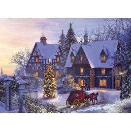 EUROGRAPHICS Puzzle Na Vánoce doma 1000 dílků
