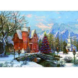EUROGRAPHICS Puzzle Vánoční světla 1000 dílků