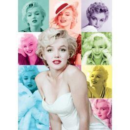 EUROGRAPHICS Puzzle Marilyn Monroe: Barevné portréty 1000 dílků