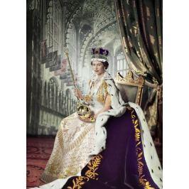 EUROGRAPHICS Puzzle Královna Alžběta II. 1000 dílků