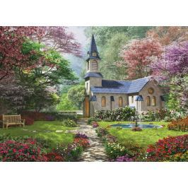 EUROGRAPHICS Puzzle Kvetoucí zahrada 1000 dílků
