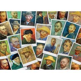 EUROGRAPHICS Puzzle Autoportréty 1000 dílků