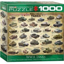 EUROGRAPHICS Puzzle Tanky 2. světové války II. 1000 dílků