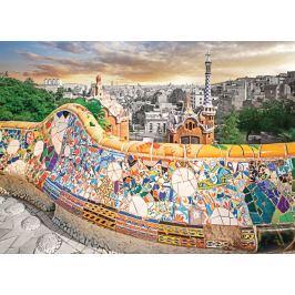 EUROGRAPHICS Puzzle Barcelona - park Güell 1000 dílků