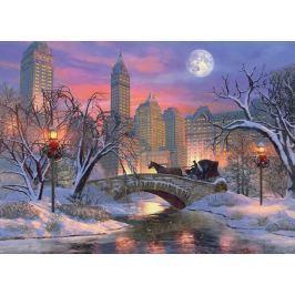 EUROGRAPHICS Puzzle Štědrý večer v New Yorku 1000 dílků