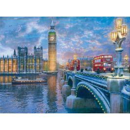 EUROGRAPHICS Puzzle Štědrý večer v Londýně 1000 dílků