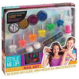 WOOKY Style Me Up: Svítící nehty ve tmě set