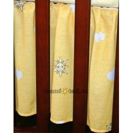 Mamo Tato Krásný volánek pod matraci - Městečko pomeranč, 120x60