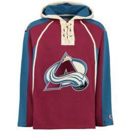 Old Time Hockey Pánská mikina s kapucí  Lacer Fleece NHL Colorado Avalanche, L