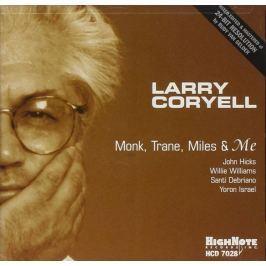 CD Larry Coryell : Monk, Trane, Miles & Me