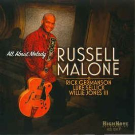 CD Russell Malone : All About Melody