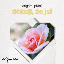 Origamica Origami přání - Děkuji, že jsi