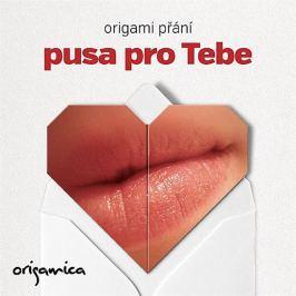 Origamica Origami přání - Pusa pro Tebe
