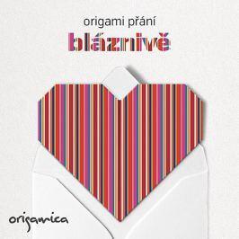 Origamica Origami přání - Bláznivě