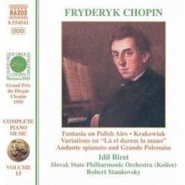 CD F. Chopin : Andante Spianato