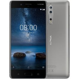 Nokia Phones Smartphone NOKIA 8 DS Steel