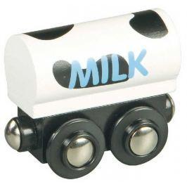 Vláček dřevěné vláčkodráhy Maxim Vagón na mléko