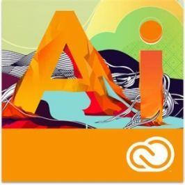 Adobe Illustrator CC MP ENG (12 měsíců) 1-49 EDU (NAMED)