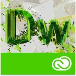 Adobe Dreamweaver CC MP ML (+CZ) EDU RENEWAL L-1 1-9 NAMED (12 měsíců)