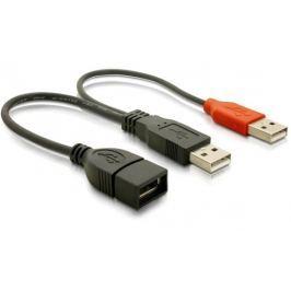 Delock datový a napájecí USB kabel, černý