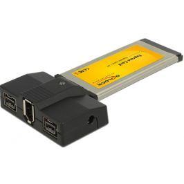 DeLock Express Card > 1 x FireWire A, 2 x FireWire B