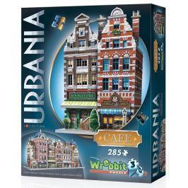 WREBBIT 3D puzzle Urbania: Kavárna 285 dílků