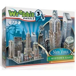 WREBBIT 3D puzzle  875 dílků New York Midtown East