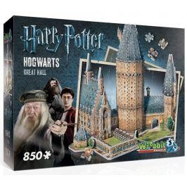 WREBBIT 3D puzzle  850 dílků Harry Potter: Bradavice, Velká síň 3D