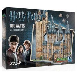 WREBBIT 3D puzzle  875 dílků Harry Potter: Bradavice, Astronomická věž 3D